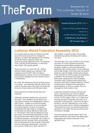 Issue 5 - Lutheran Church in Great Britain
