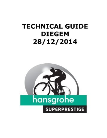 Here you can download the technical guide - Koninklijk Diegem-Sport