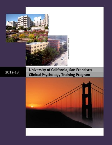 clinical psychology training program - UCSF Dept of Psychiatry ...