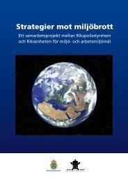 Strategier mot miljöbrott - Åklagarmyndigheten