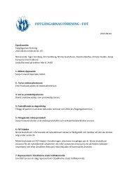 Styrelseprotokoll 130604 - FOT