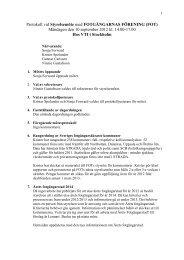Styrelseprotokoll 120910 - FOT