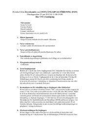 Styrelseprotokoll 120125 - FOT