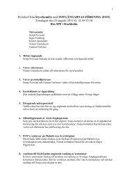 Styrelseprotokoll 110825 - FOT