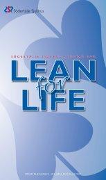 Broschyr Lean for Life - Södertälje sjukhus