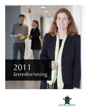 Årsredovisning 2011 Åklagarmyndigheten