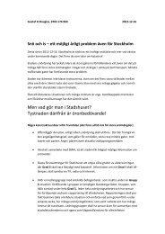 Gustaf Douglas i Stockholm har tagit upp en debatt om den ... - FOT