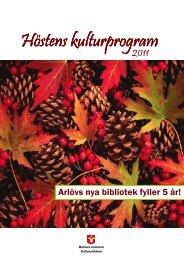 Höstprogrammet 2011.pdf - Burlövs kommun