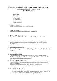 Styrelseprotokoll 110609 - FOT