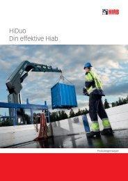 Brosjyre Hiab X-HiDuo 188 - Hiab AS