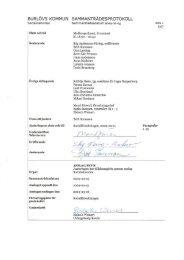 Socialnämndens sammanträdesprotokoll 2009 ... - Burlövs kommun