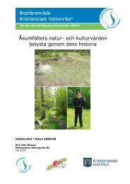 Åsumfältets natur - Aktuellt från Kristianstads Vattenrike