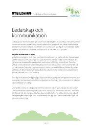 Ledarskap och kommunikation