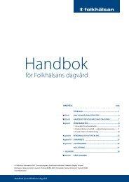 Handbok för Folkhälsans dagvård