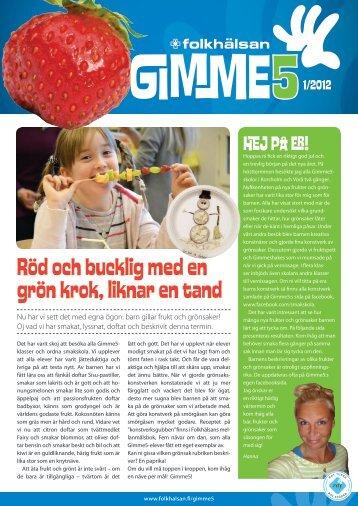 Nyhetsbrev 1/2012 (pdf) - Folkhälsan