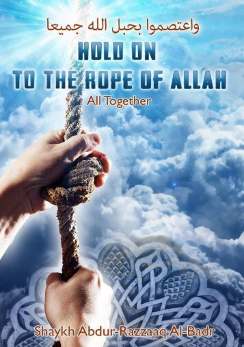 Holding-to-the-Rope-of-Allaah1