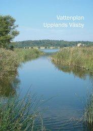 Vattenplan Upplands Väsby - Upplands Väsby kommun