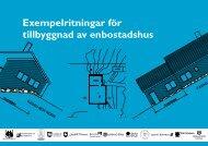 Exempelritningar för tillbyggnad av enbostadshus - Upplands Väsby ...