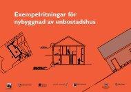 Exempelritningar för nybyggnad av enbostadshus - Upplands Väsby ...
