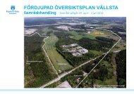 FÖP Vällsta samrådshandling.pdf - Upplands Väsby kommun