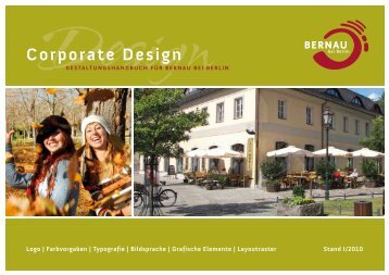 corporate design - BeSt Bernauer Stadtmarketing GmbH