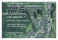 Program Smedby 1.pdf - Upplands Väsby kommun