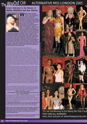 Alternative Miss London 2006 - WayOut Publishing Co Ltd