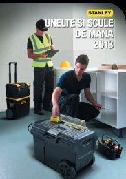 UNELTE SI SCULE DE MANA 2013 - Stanley