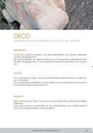 NEW - Van der Gucht pottery & bamboo