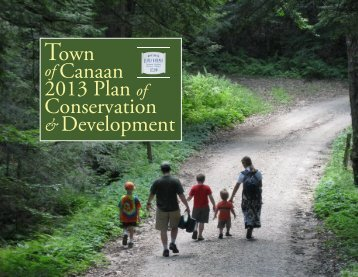 draft 2013 Town Plan of Conservation & Development