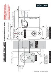 PullBolt Side Mount Instructions