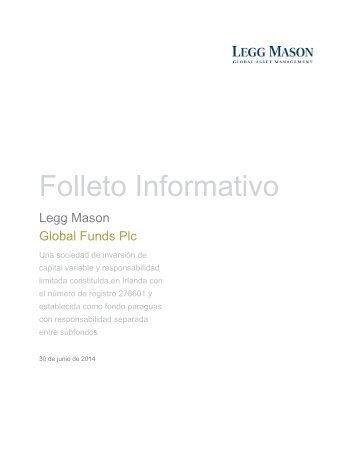 Folleto Informativo - Legg Mason