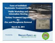 Sewer Authority Facilities Plan Amendment-Public Hearing