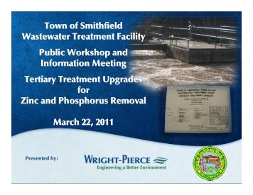 Sewer Authority Facilities Plan Amendment-Public Hearing