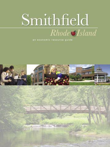 *Smithfield Guide 2005.indd - Town of Smithfield, Rhode Island