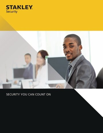 View Brochure - Stanley Security Solutions