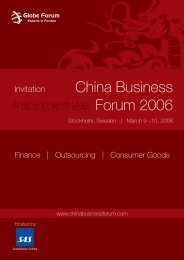 China Business Forum 2006 - MBCE