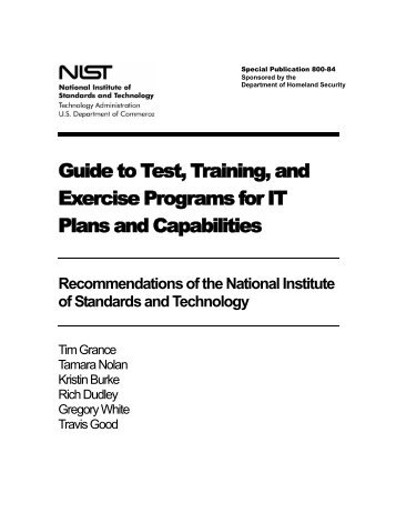 Exercise development guide for validating influenza pandemic preparedness plans