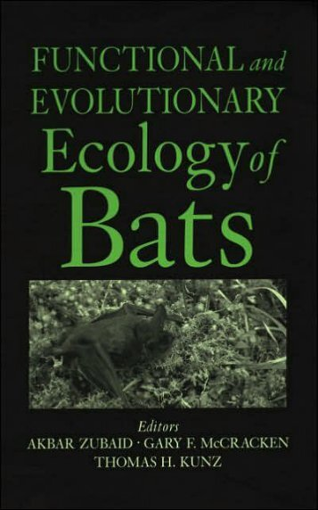 functional-and-evolutionary-ecology-of-bats