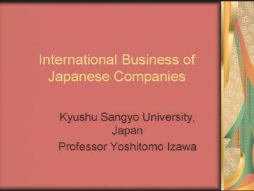 International Business of