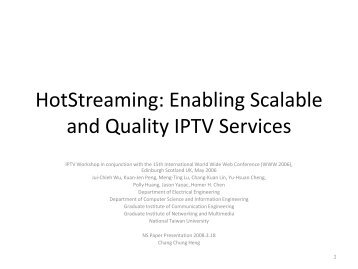 Optimizing the Quality of Scalable Video Streams on P2P Networks