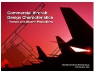 commercial aircraft design characteristics - trends and growth