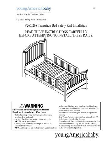 Legendary Safety Gate Flat Crib Baby S Dream Furniture