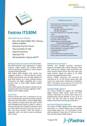Fastrax IT530M