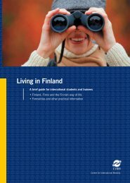 Living in Finland - Invest in Kuopio