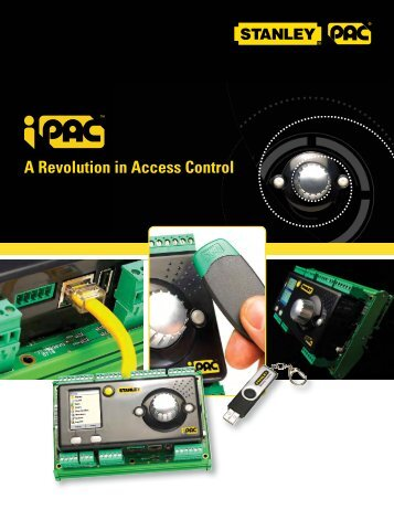 iPAC Two Door Controller Brochure - Stanley PAC