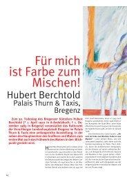 Für mich ist Farbe zum Mischen! - Kulturmagazin-Bodensee.de