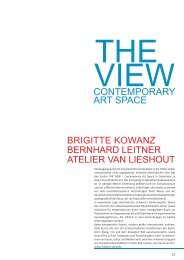 CONTEMPORARY ART SPACE - Kulturmagazin Bodensee