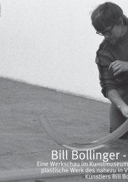 Bill Bollinger - Die Retrospe - Kulturmagazin-Bodensee.de