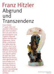 Abgrund und Transzendenz - Kulturmagazin-Bodensee.de